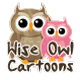 Wise Owl Cartoons