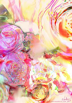 False Pink Rose
