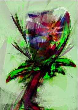 Purple Flower Ah