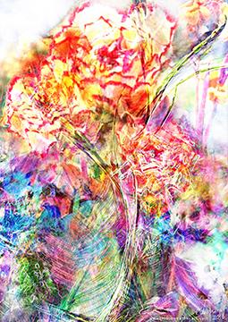 Rainbow Psy Flowers