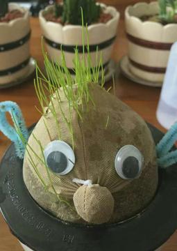 Making Grass Heads