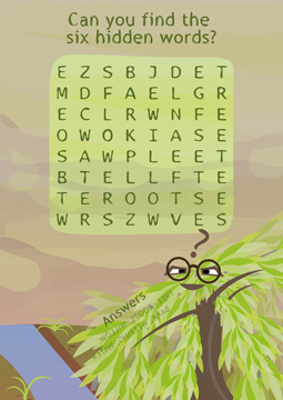Wise Willow - Word Search
