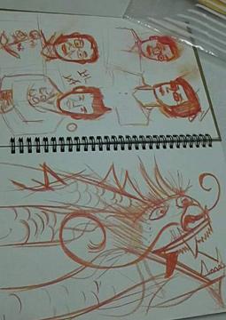 Fire Rainbow Sketchbook 5