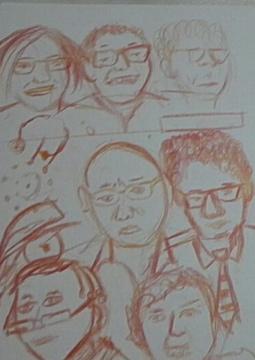 Fire Rainbow Sketchbook 7